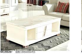modern living room furniture marble top tea table coffee
