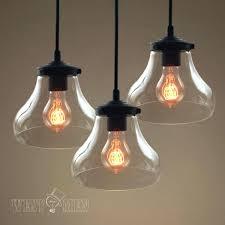 rustic glass pendant lighting. Bubble Glass Light Fixtures Clear Hand Blown Seeded Pendant Rustic Art Lighting