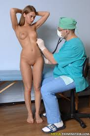 Special Examination. Finger maledom at a kinky medical exam.