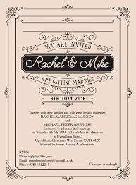 Vintage Wedding Invitation Elegant Vintage Wedding Invitation From 1 00 Each