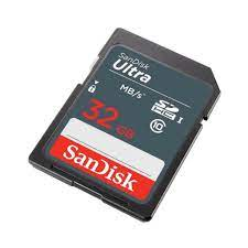 Sandisk ULTRA SDHC Class 10 100MBps - 32GB - DUNR