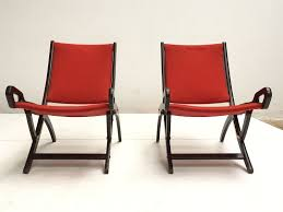 ninfea lounge chairs by gio ponti for fratelli reguitti 1958 set of 2