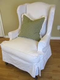 awesome skirted white wing back chair slipcover bined contemporary green cushion with sure fit slipcovers wingback chairs and cover wingback chair