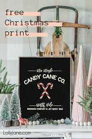 Sara elliott if you've decorated your tree with those sweet hooked candies that look like. Candy Cane Co Christmas Printable Lolly Jane