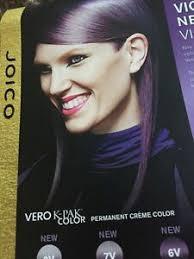 Joico Vero K Pak Hair Color Chart Details About Vero K Pak Color System Chart Haircolor Paper Swatch Chart Sheet Violet