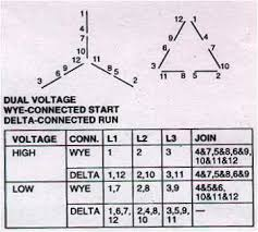 wye delta wiring diagram motor wiring diagram electric motor connections 3 phase 1 motors ion about star delta control circuit diagram