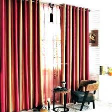 Red And Black Curtains Living Room Red And Black Curtains Bedroom ...