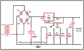 12 volt voltage regulator diagram wirdig power supply circuit diagram wiring diagram schematic