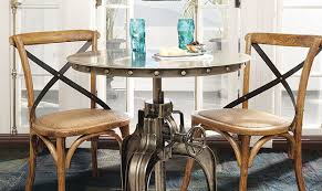 Diy bistro table Fantastic Westoncrankbistrotable The Honeycomb Home Diy Table Makeover How To Add Nailhead Trim