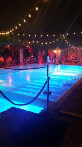 outdoor pool lighting. Dancefloor Built With Pool Lights Outdoor Lighting P