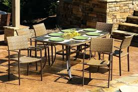 7 pc patio set resin wicker dining set for larger view westcott 7 pc patio 7 pc patio set