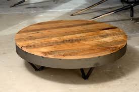 table rustic round coffee asian compact large with storage vict
