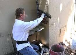 fireplace repair diy simple chimney stucco repairs over bricks for the brick concrete