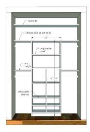 standard closet width home ideas standard depth of closets closet dimensions guide with standard depth and