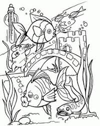 Small Picture printable Complicated fish Coloring Pages For Adults Tropical