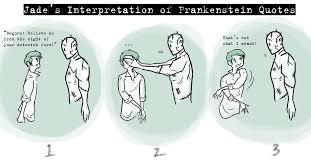 Good Frankenstein Quotes