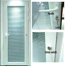 french door inserts blinds between glass luxury contemporary doors uk