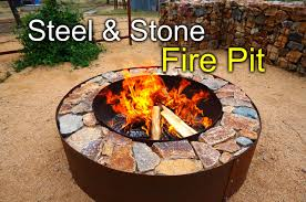 Stacked Stone Fire Pit 27 best diy firepit ideas and designs for 2017 6678 by uwakikaiketsu.us