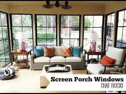 screen porch windows that rock you