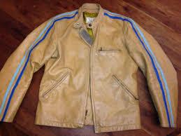 vintage bates leather motorcycle jacket us 275 00
