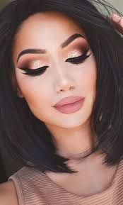 glam night out makeup look you