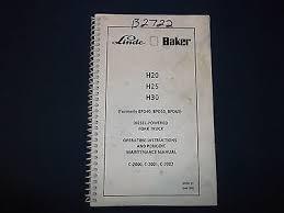 baker linde h20 h25 h30 bpd 40 50 60