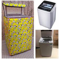 Vỏ bọc máy giặt cửa trên và cửa trước loại 1 dày đẹp - Áo trùm máy giặt bảo  vệ chống nắng chống nước chính hãng