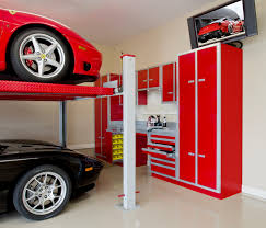 diy automotive wall decor decorative garage ideas storage shelf s free inspiring wall mounted plans on