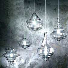 blown glass pendant lights blue hand blown glass pendant lights pertaining to light designs 1 home