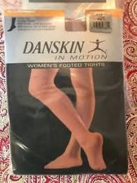 Details About Danskin In Motion Womens Footed Tights Adult Durasoft Nylon Microfiber A B C D