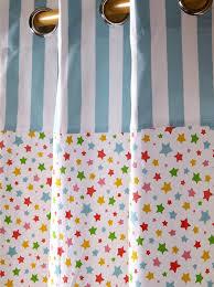 Amazon.de: Homescapes Vorhang Kinderzimmer Ösenvorhang ...