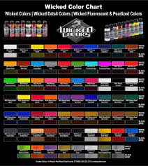 Createx Wicked Color Colours Artist Supplies