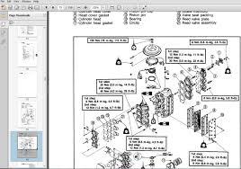 diagram outboard motor manuals diagram yamaha boat motor repair manuals get image about