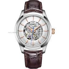men s rotary mecanique skeleton automatic watch gs05032 06 mens rotary mecanique skeleton automatic watch gs05032 06