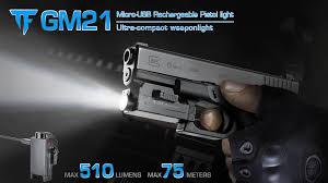 Rechargeable Weapon Light Trustfire Gm21 Quick Mount Pistol Police Gun Light Tactical Led Flashlight Rechargeable Outdoor Equipment Buy Quick Mount Light Pistol Police Gun