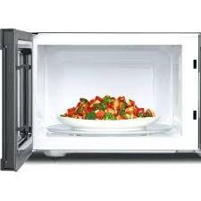 stainless steel countertop microwave cu ft microwave in fingerprint resistant stainless steel with greater capacity ge