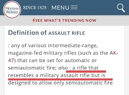 Merriam webster Changes Of Definition Rifle Assault 6OwYUqwf