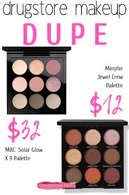 makeup dupe for mac eye shadow morphe jewel crew