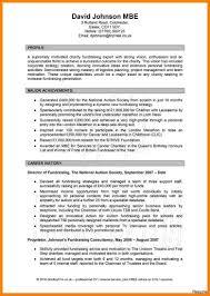 Personal Profile Sample Pdf Extraordinary Professional Example Cv