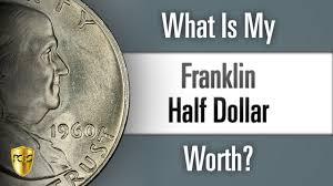 1960 Half Dollar Value Chart What Is My Franklin Half Dollar Worth