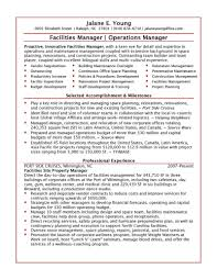 Facility Manager Job Description Resume Facilities Manager Jobiption Template Assistant Resume Sample Jd 15