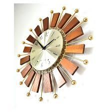 mid century wall clock vintage sunburst wall clock mid century wall clock manufacturer vintage design furniture