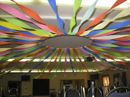 party streamers decorating ideas