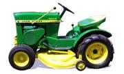 tractordata com john deere 112 tractor information  at John Deere 112 Riding Lawn Mower Model T0011 Wiring Diagram