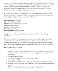Pr Job Descriptions And Duties Marketing Consultant Job Description ...