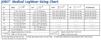 Jobst Hose Size Chart Details About Jobst For Men 15 20 Closed Toe Knee High Ribbed Compression Socks Black
