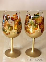 thanksgiving wine glass painting class