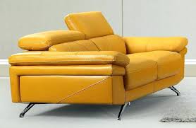Yellow leather chair Light Yellow Modern Style Yellow Leather Sofa Pertaining To Chair Idea Recliner Butter Surgify Yellow Leather Recliner Surgify
