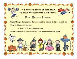 costume party invites costume theme personalized party invitations by the personal note