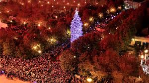 christmas tree lighting chicago. 102nd Chicago Christmas Tree Lighting Time-lapse O